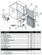 Aprilaire 1700 / 1750 Dehumidifier Parts