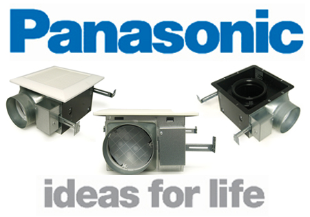 panasonic bathroom fans   bathroomfanexperts