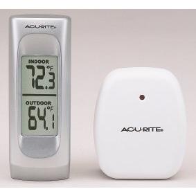 Buy Acu-Rite 00983 Wireless Indoor/Outdoor Thermometer with Sensor ...