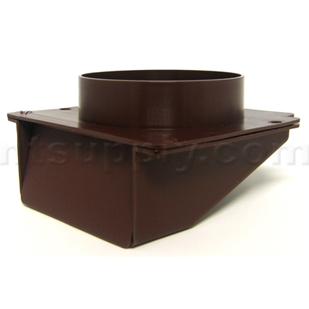 Buy Undereve Soffit Vent With Damper Brown Lambro 143b