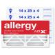 14x25x4 AIRx ALLERGY Air Filter - MERV 11