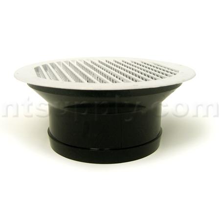 Buy White Plastic Undereve Soffit Bath Fan Vent Lambro