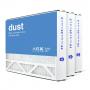 16x25x3 AIRx DUST Air Bear 255649-101 Replacement Air Filter - MERV 8, 3-Pack