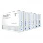 16x25x5 AIRx HEALTH Air Bear 255649-105 Replacement Air Filter - MERV 13, 6-Pack