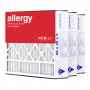 20x25x5 AIRx ALLERGY Air Bear 255649-102 Replacement Air Filter - MERV 11, 3 pack