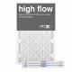 16x25x1 AIRx High Flow Pleated Air Filter