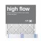 20x25x1 AIRx High Flow Pleated Air Filter