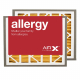 16x25x3 AIRx ALLERGY Honeywell FC40R1060 Replacement Return Grille Filter - MERV 11