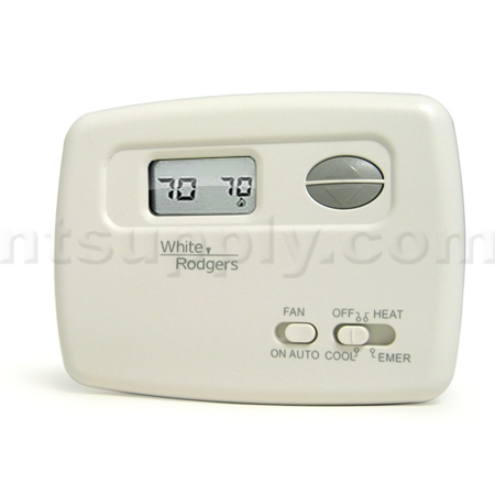 White rodgers 1f79 111 non programmable heat pump thermostat