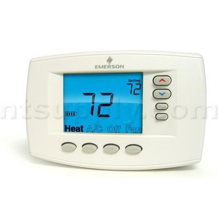 buy easy reader blue universal thermostat 1f95ez 0671. Black Bedroom Furniture Sets. Home Design Ideas