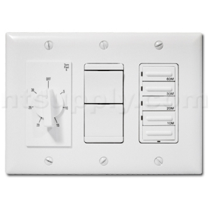 Buy 4-Function Deluxe 20 Amp Switch Combo for Heater/Fan/Light ...
