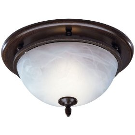 Buy Broan Model 754rb Decorative Fan Light Glass With Rubbed Bronze Broan Nutone 754rb