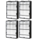 AIRx Replacement HEPA Filter for Holmes HAPF600DM-U, 4-Pack