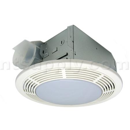 Buy Nu Tone Model 8663rft Round Bath Fan With Fluorescent Light Broan Nutone 8663rft