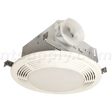Nutone Bathroom Fan And Light buy nu-tone model 8664rp round bath fan with light | broan-nutone