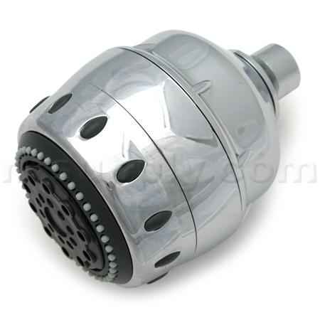 buy sprite royale filtered shower head chrome sprite industries ars5 cm. Black Bedroom Furniture Sets. Home Design Ideas