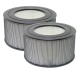 AIRx Replacement HEPA filter for Honeywell Enviracaire 10500 / 20500, 2-pack