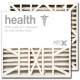 20x21x5 AIRx HEALTH White Rodgers FR1600-100 Replacement Air Filter - MERV 13