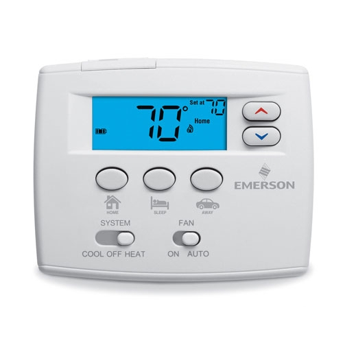 how to change white rodgers thermostat