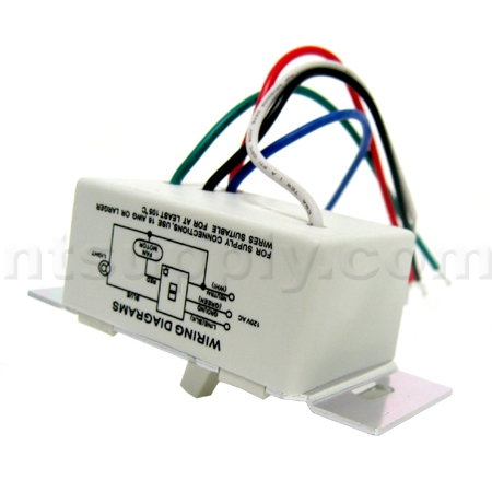 fan light delay timer switch allows continous operation of the