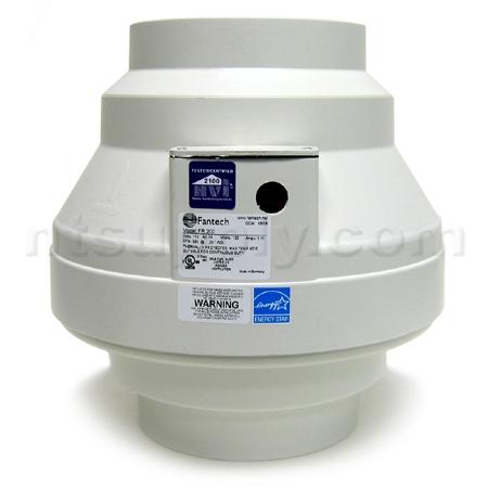 Buy Fantech Fr200 Inline Centrifugal Fan 360 Cfm