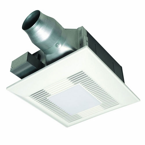 Buy panasonic whisperfitez low profile bathroom fan with - Panasonic bathroom ventilation fans ...