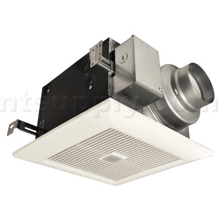 Panasonic WhisperSense Bathroom Fan With Motion Humidity Sensors
