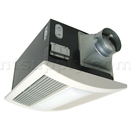 buy panasonic whisperwarm bathroom fan with heater and lights fv,
