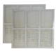 Replacement HEPA Filter for Holmes Portable Air Purifier HAPF-35, 2-Pack