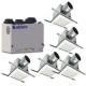 Aldes VentZone IAQ 4-1/2 Bathroom Performance Ventilation Package With 215 CFM HRV