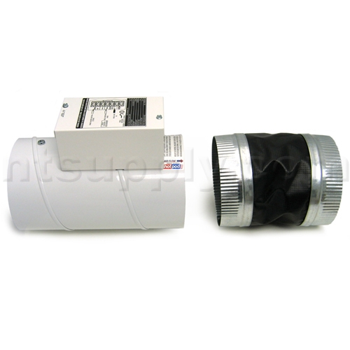 Heat Duct Booster Blower : Zone heat duct heater airflow booster ebay