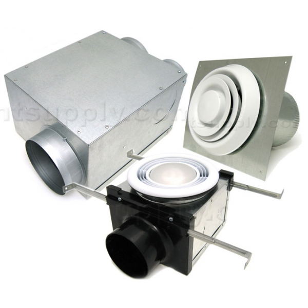 Buy Aldes Bath Fan Kit With Multi Port Exhaust Fan With 6
