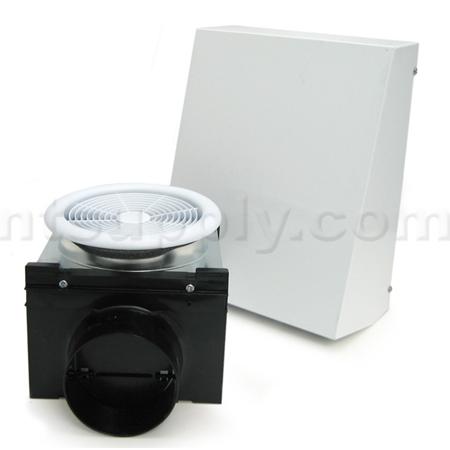 Fantech PBW110 Premium Exterior Mount Bath Fan Kit   110 CFM