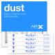 10x10x1 AIRx DUST Air Filter - MERV 8