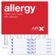 12x12x1 AIRx ALLERGY Air Filters - MERV 11