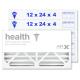 12x24x4 AIRx HEALTH Air Filter - MERV 13