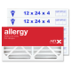 12x24x4 AIRx ALLERGY Air Filter - MERV 11