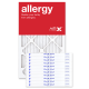 13x21.5x1 AIRx ALLERGY Air Filter - MERV 11