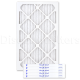 Bryant/Carrier/Payne Coil Pleated Filter - 13 x 21 1/ 2 x 1