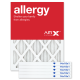 15x20x1 AIRx ALLERGY Air Filter - MERV 11