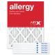 14x18x1 AIRx ALLERGY Air Filter - MERV 11