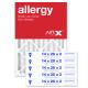 14x20x2 AIRx ALLERGY Air Filter - MERV 11