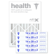14x20x2 AIRx HEALTH Air Filter - MERV 13