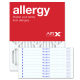 16x20x1 ALLERGY Air Filter - MERV 11