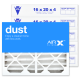 16x20x4 AIRx DUST Air Filter - MERV 8