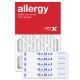 16x24x2 AIRx ALLERGY Air Filter - MERV 11