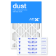 16x25x2 AIRx DUST Air Filter - MERV 8