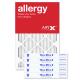 16x25x2 AIRx ALLERGY Air Filter - MERV 11