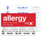 16x25x4 AIRx ALLERGY Air Filter - MERV 11