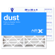 20x25x4 AIRx DUST Air Filter - MERV 8